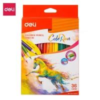 DELI Colored Pencil 36C [EC00330] - Pensil warna anak-anak