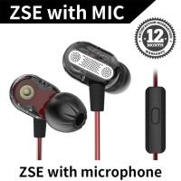 Knowledge Zenith KZ ZSE In Ear Earphone - Dual Dynamic Driver