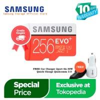 EXCLUSIVE TOKOPEDIA- Samsung Evo PLUS 256GB MicroSD SDXC UHS-I Class10