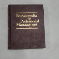 ensiklopedia encyclopedia of professional management