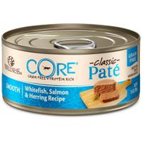 Wellness CORE Pate Whitefish Salmon Herring Cat Food Kucing Can 5.5oz