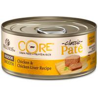 Wellness CORE Pate Indoor Chicken & Chicken Liver Kitten Can 5.5oz