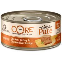 Wellness CORE Paté Chicken, Turkey Chicken Liver Cat Kucing Can 5.5oz
