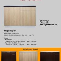 MEJA DAPUR BAWAH + Top Table Solid Surface