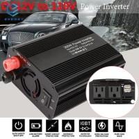 EGY Adapter Power Inverter Portable Bahan Aluminium Alloy 600W