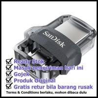 PROMO SPECIAL Sandisk Flashdisk Ultra Dual 16GB 2 in 1 Super Speed USB
