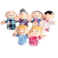 Terpupoler Set Boneka Jari Keluarga Mainan Anak Family Finger Puppet 8b153f9fd4