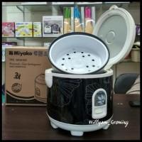 FREE ONGKIR Rice cooker miyako Magic warmer plus, MCM 528 (dark grey)