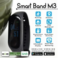 Terbaru Jam Tangan Pintar Xiaomi Mi Band 3 Looks Smart Band M3