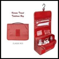 CUCI GUDANG Korean Travel Toiletries Bag (Tas untuk tempat kosmetik)