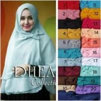 Promo Grosir Hijab / Jilbab Syiria Dhea Pita 3 Layer / Khimar Dea /