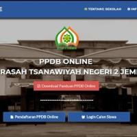 Software Aplikasi PPDB/PSB Online Berbasis Website - SMP