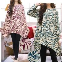tunik/baju muslim/gamis/tunik batik/baju batik wanita/batik big size