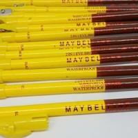 Maybelline eyebrow 2 in 1 pensil alis eyeliner pencil