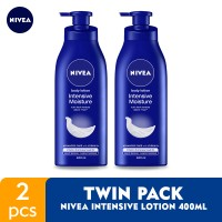 NIVEA Body Intensive Lotion 400ml - Twin Pack