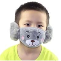 Earmuff dan Masker Anak / Earmask Anak