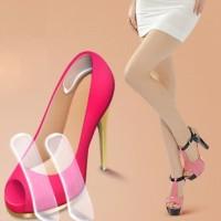 silicone shoe pad / pelindung tumit sepatu wanita