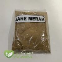 GoodHerba Jahe Merah bubuk - Jamu Herbal Tradisional kemasan 50 gr