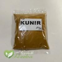 GoodHerba bubuk Kunyit / Kunir Jamu Herbal Tradisional kemasan 50 gr
