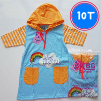 10T Dress Hoodie Baju Anak Perempuan Motif Lucu OKBG