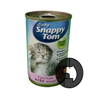 baby snappy tom 150 gr kitten tuna feast (can)