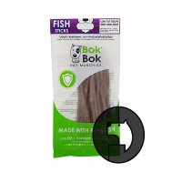 bok bok pet munchies 50 gr dog fish sticks