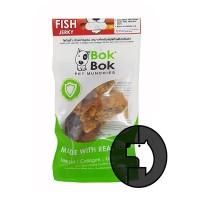 bok bok pet munchies 50 gr dog fish jerky