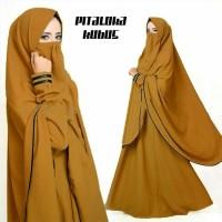 Gamis Syari Pitaloka Plus Niqab Kubus