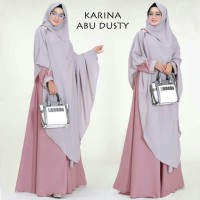 Gamis Syari Karina Abu Dusty