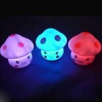 Lampu Tidur LED Jamur / Lampu LED Warna / Lampu Hias / Lampu Tidur