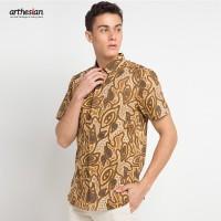 [Arthesian] Kemeja Batik Pria - Delvin Batik Printing