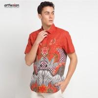 [Arthesian] Kemeja Batik Pria - Rafirzy Batik Printing