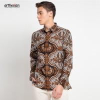 [Arthesian] Kemeja Batik Pria - Farzan Batik Printing