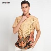 [Arthesian] Kemeja Batik Pria - Citrus Batik Printing