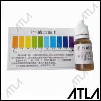 Liquid pH Reagent Tester Alat Cair Tetes Cek Asam Basa Laktat EU021