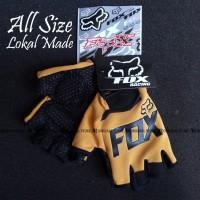 Glove Fox Glove Fitness Sarung Tangan Fitness NOT Fork FOX - Coklat