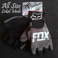 Glove Fox Glove Fitness Sarung Tangan Fitness NOT Fork FOX - Abu Putih