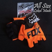 Glove Fox Glove Fitness Sarung Tangan Fitness NOT Fork FOX - Orange