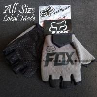 Glove Fox Glove Fitness Sarung Tangan Fitness NOT Fork FOX - Abu Hitam