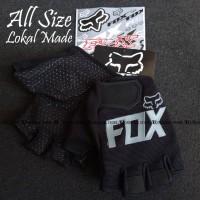 Glove Fox Glove Fitness Sarung Tangan Fitness NOT Fork FOX Hitam Abu