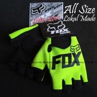 Glove Fox - Sarung Tangan Fitness NOT Fork FOX - Hijau Stabillo