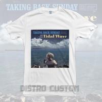 Kaos Taking Back Sunday Tidal Wave 2 - Original Gildan T shirt