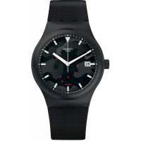 Jam Tangan Unisex Swatch SISTEM CLOUDS Watch SUTA401