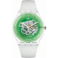 Jam Tangan Wanita Swatch Greenmazing Watch SUOK131