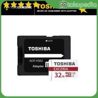 Toshiba Exceria M302 Micro SDHC Memory Card [32 GB/90 Mbps/Clas -K2779