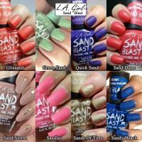 LA Girl Nail Polish Sandy Blast - Sandy Beach thumbnail