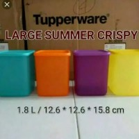 Jual Tupperware Large Summer Fresh Wadah Tempat Makanan Tinggi n Murah