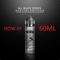 SENSO TOBACCO 60ML 6MG ALL BLACK Premium Tembakau Murni Liquid Vape