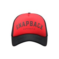 Snapback Topi Trucker Dewasa Basic Snapback Red Black GTS90314E 0119 58d3a851af