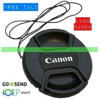 Lens Cap Canon 49mm m3 m10 15-45mm tutup lensa lenscap sony